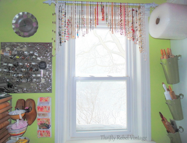 necklace window valance