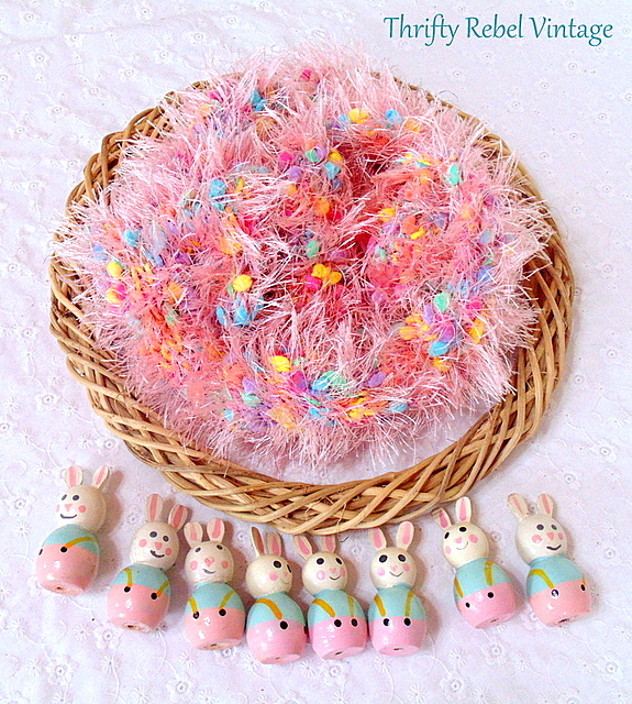 bunny easter wreath