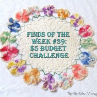 Finds of the Week #39: My $5 Budget Challenge