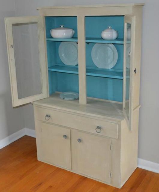 stepback cupboard makeover