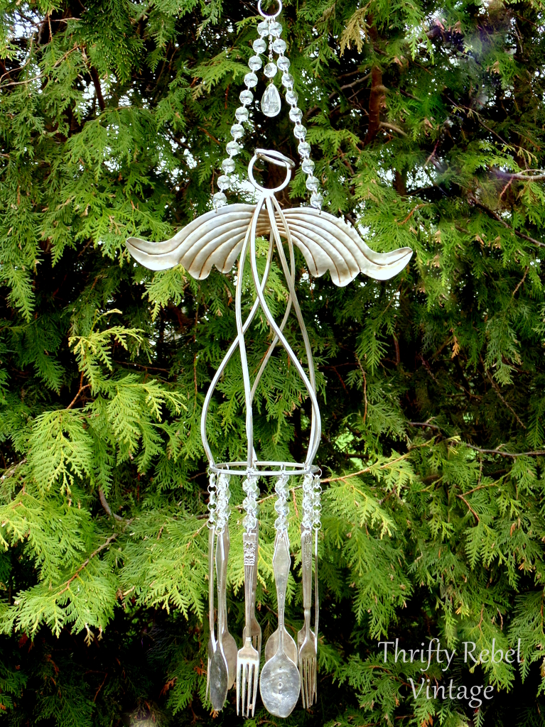 New Wind Chimes In My Etsy Shop Thrifty Rebel Vintage