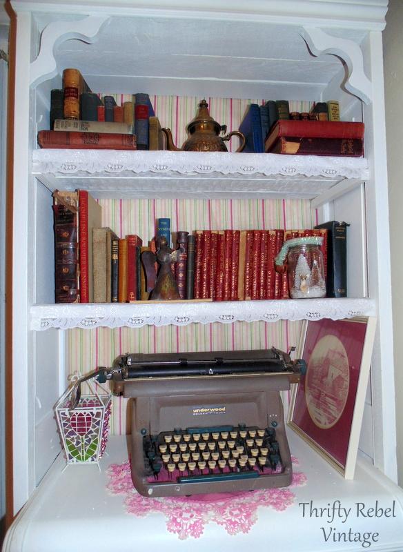 antique book collection