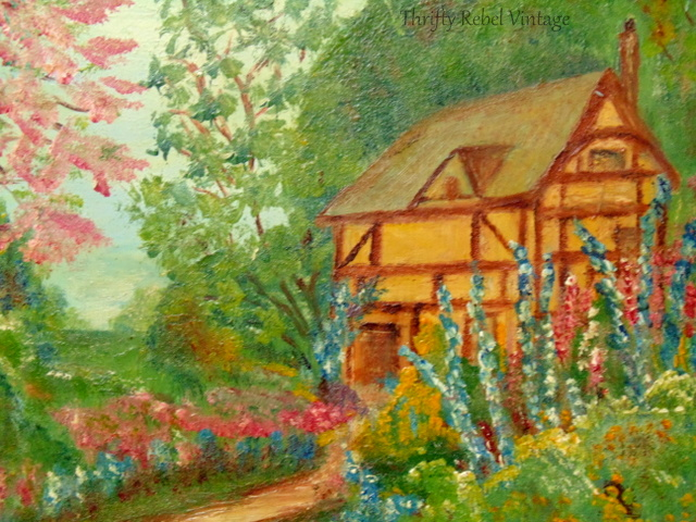 cottage garden painting 2
