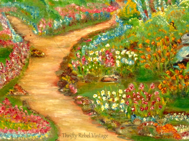 cottage garden painting 4