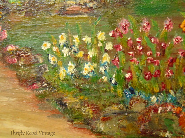 cottage garden painting 5