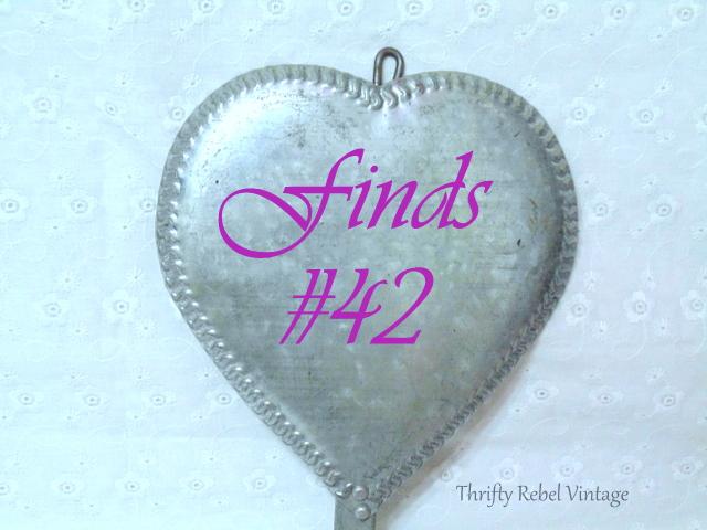 vintage galvanized metal heart shaped candle sconces