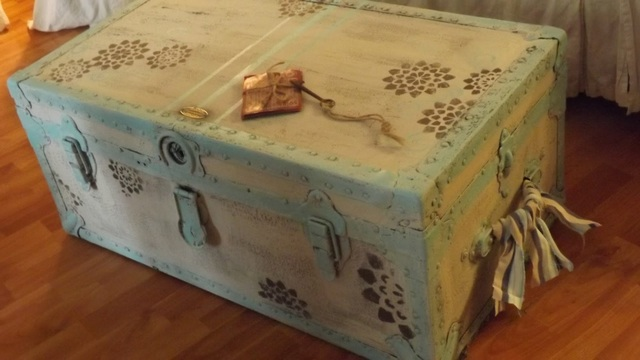 Treasure chest makeover