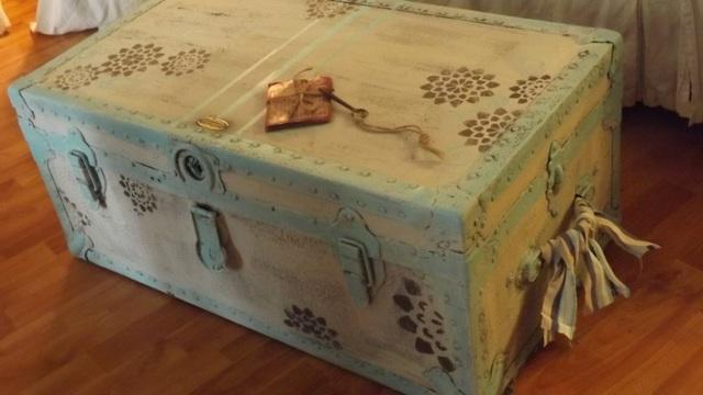 Treasure chest makeover