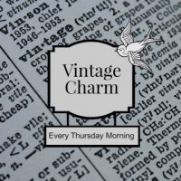Vintage Charm #29 and April Feature of the Month