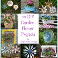 10 DIY Garden Flower Projects