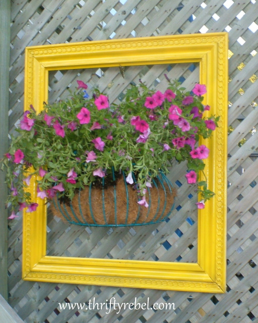 Framing a Wall Flower Planter