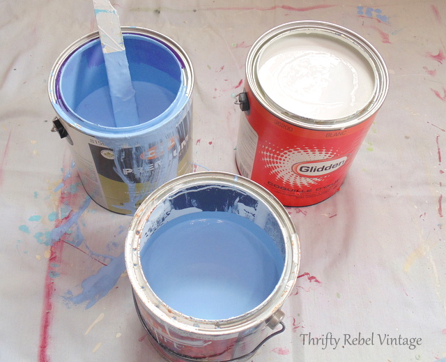 how to mix your own latex paints for a custom colour