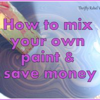 How to Mix Your Own Paint and Save Money