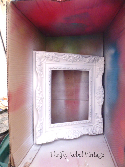 ornate plastic picture frame 3
