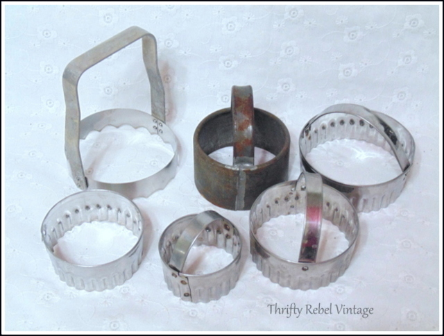 vintage biscuit cutters