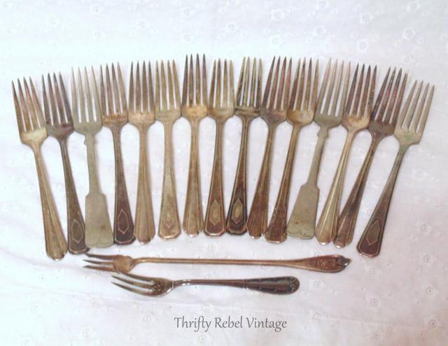 Vintage Silver plate forks
