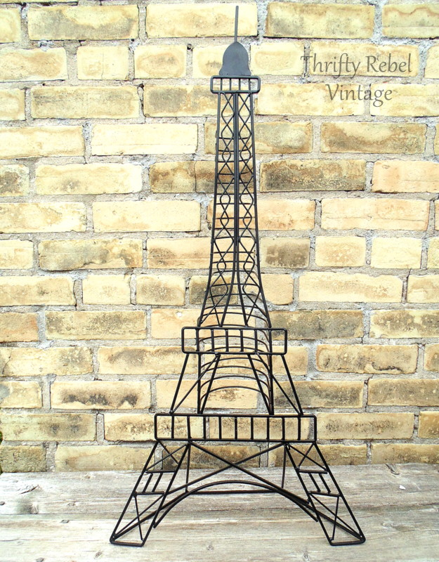 Eiffel Tower DVD stand