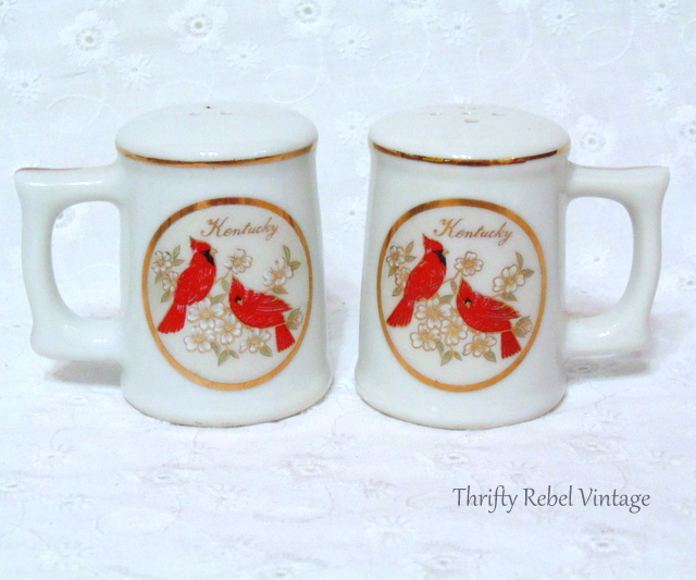 Kentucky Cardinal Salt and Pepper Set