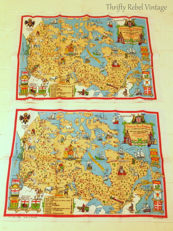 Hudson's Bay Company tea towels