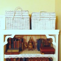 Repurposed Picnic Basket Makeover