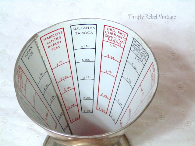 vintage aluminum dry measuring cup