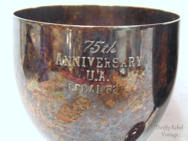 5th anniversary silver goblets