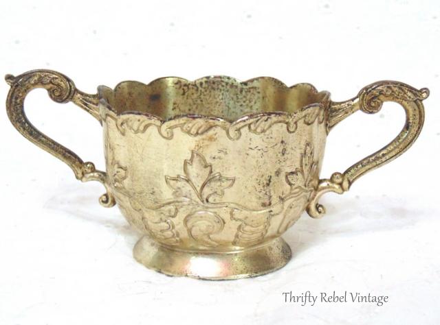 silver sugar bowl occupied Japan