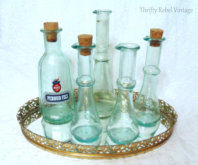 green-bottles-and-vanity-tray