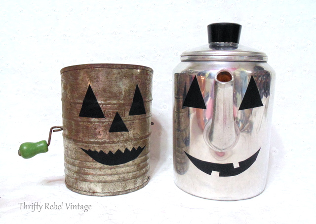 repurposed jack o lanterns