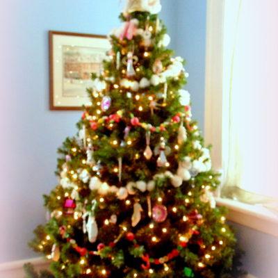 My Pink and Girly Christmas Tree