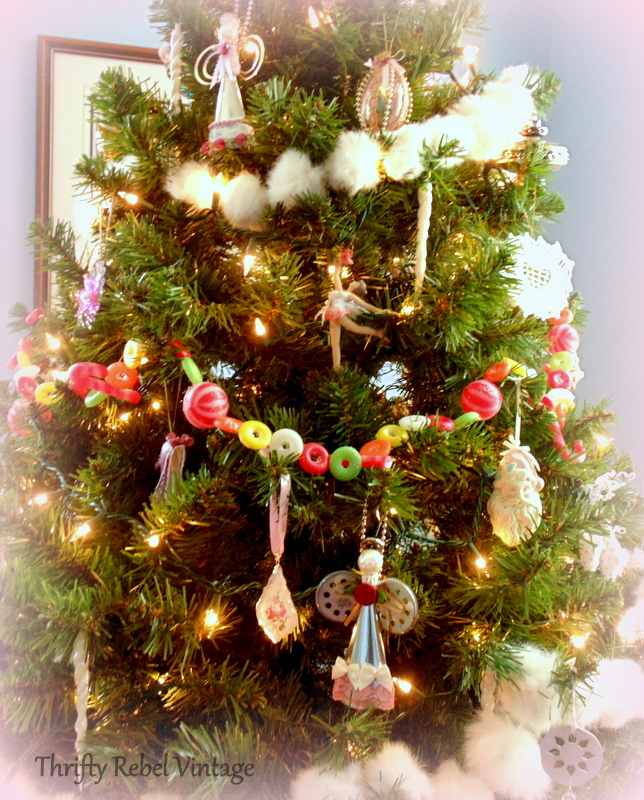 Pink themed Christmas tree @