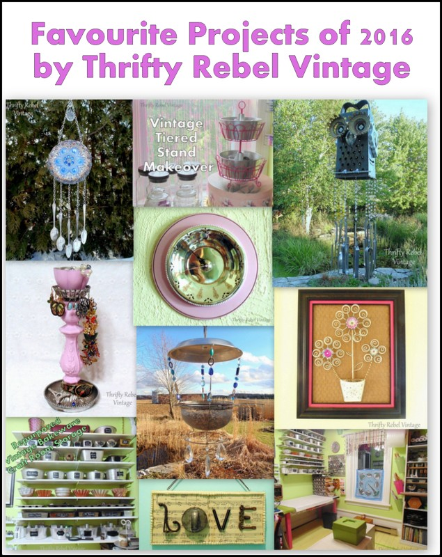 Favourite Projects of 2016 by Thrifty Rebel Vintage
