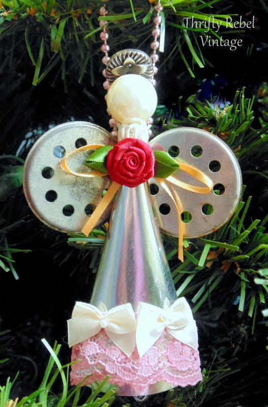 cream-horn-angel-ornament-93a