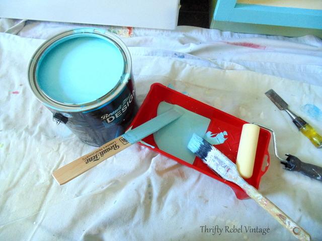 kitchen cabinet painting supplies