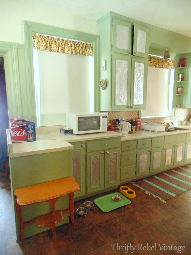 Kitchen Makeover Adventure Begins Thrifty Rebel Vintage