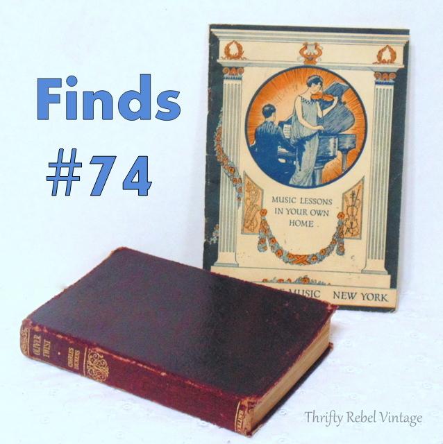Antique Oliver Twist book