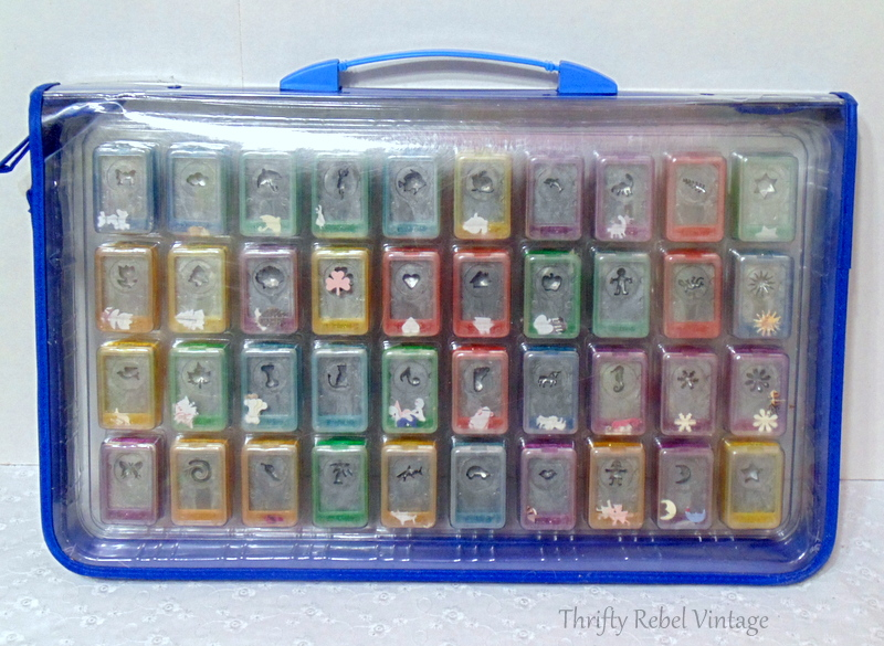 paper punch set and case