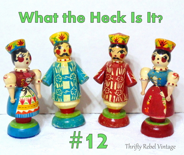 What the Heck Is It #12 / thriftyrebelvintage.com