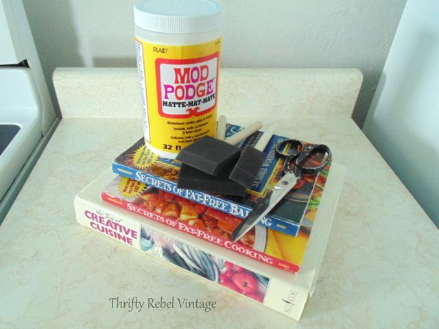 cookbooks for kitchen counter makeover