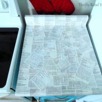 Kitchen Counter Makeover Decoupage Recipe
