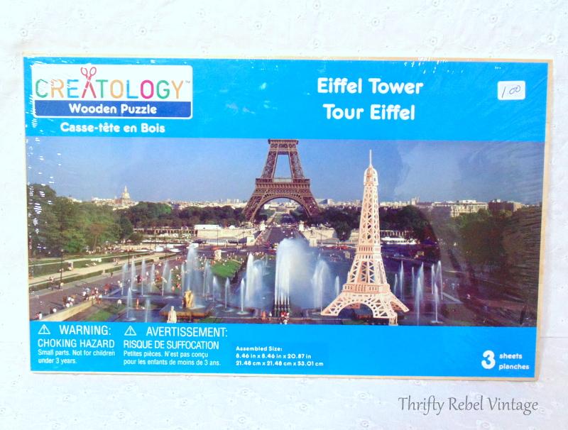 Eiffel Towel 3d wooden puzzle