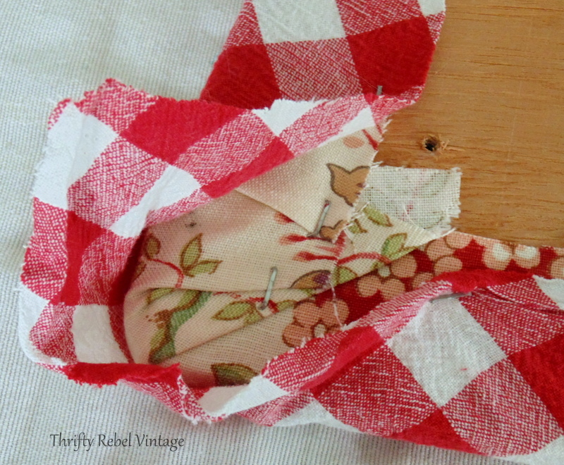 how to tuck in the corners of fabric for kitchen chairs seat makeover