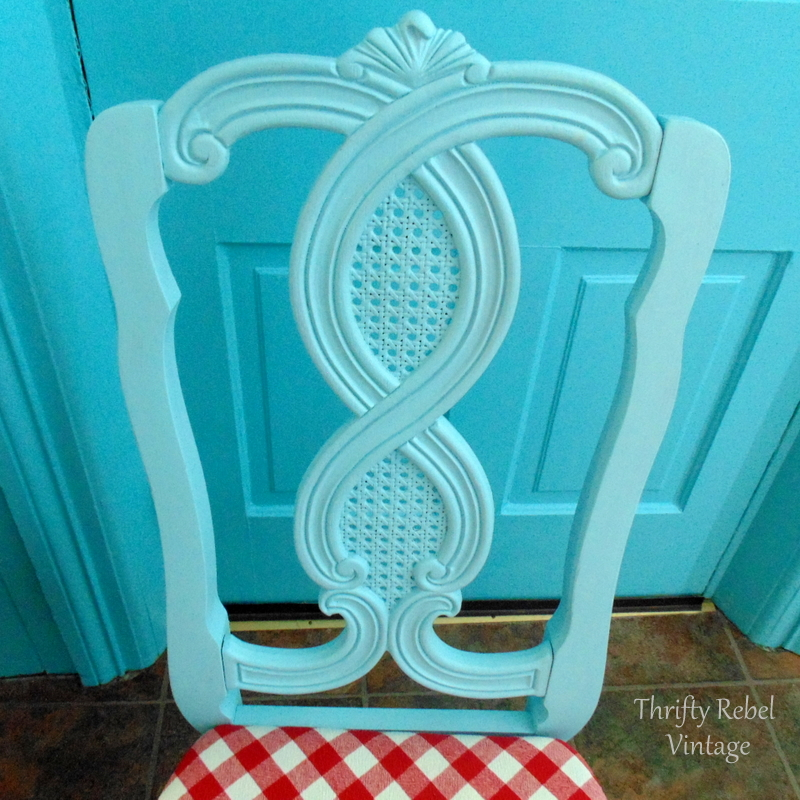 kitchen chair makeover
