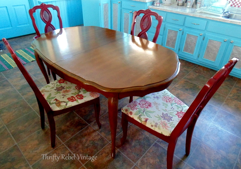 kitchen table and chairs before