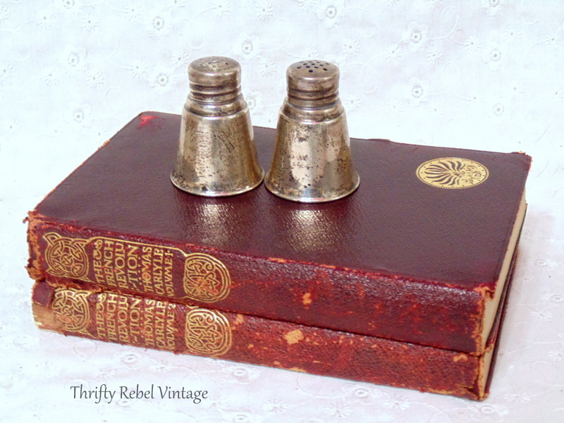 Antique Books French Revolution Volumes 1 and 2