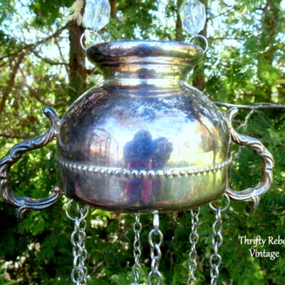 How to Make a Sweet Sounding Silver Sugar Bowl Wind Chime