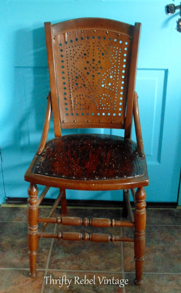 how to give an old chair a new life wooden chair makeover