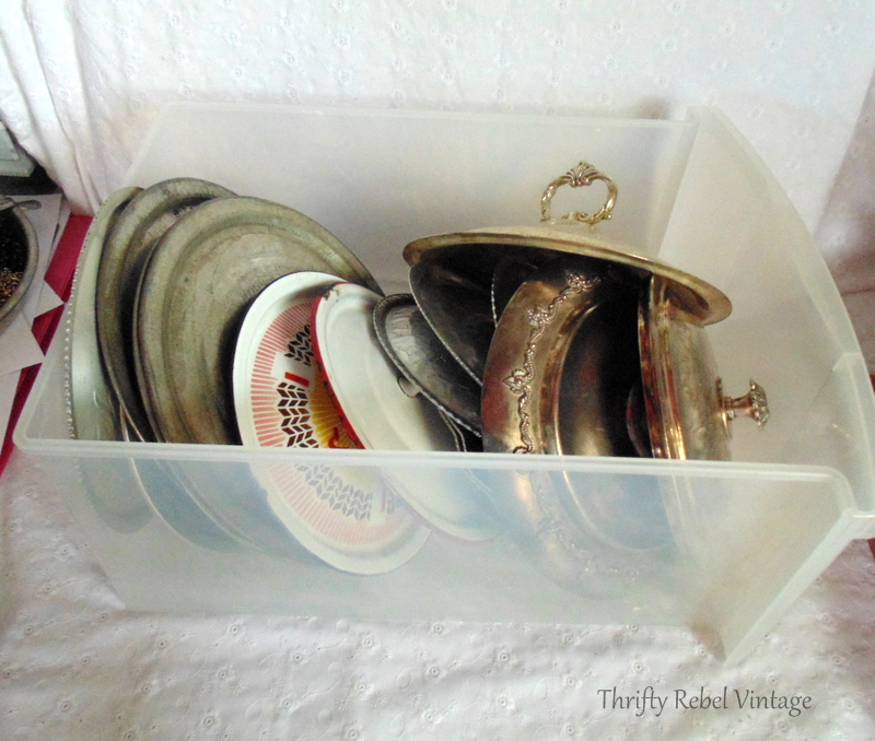 vintage repurposed lids window valance