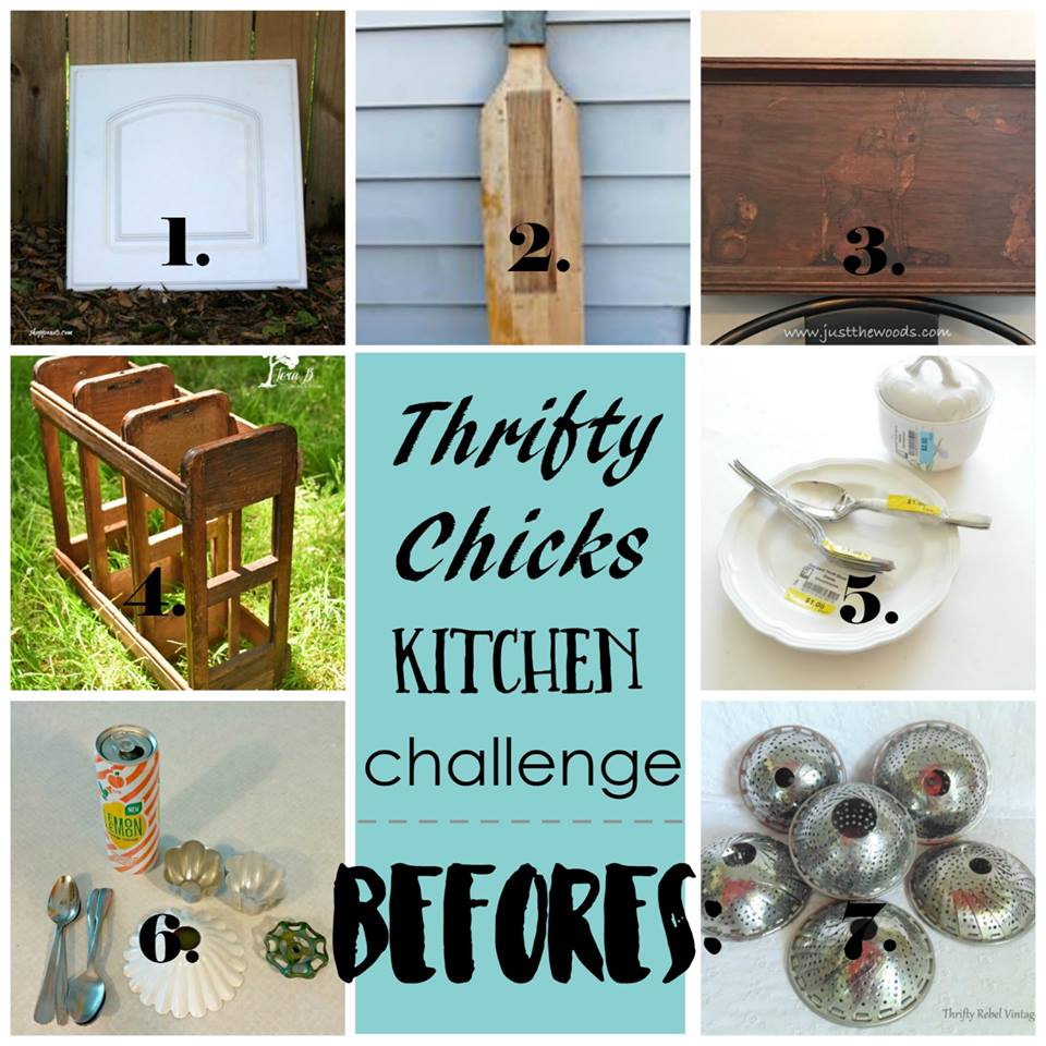Thrifty Chick Kitchen Items Challenge