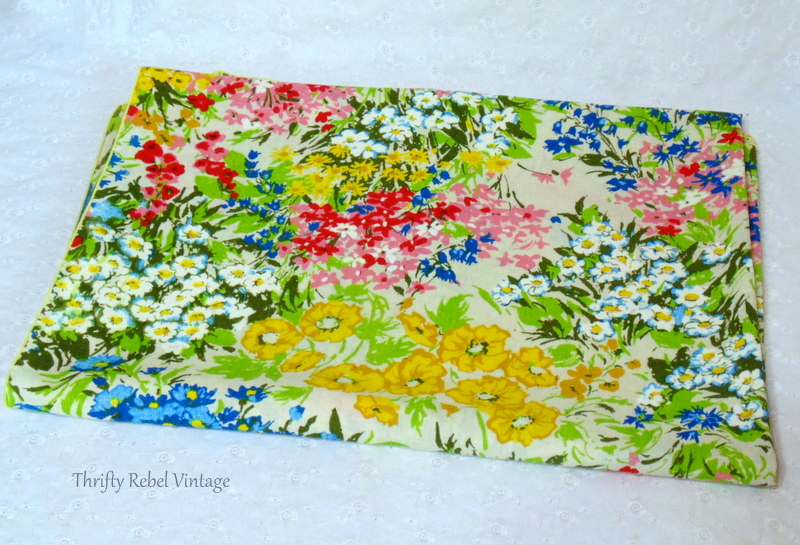 impressionist colorful floral tablecloth